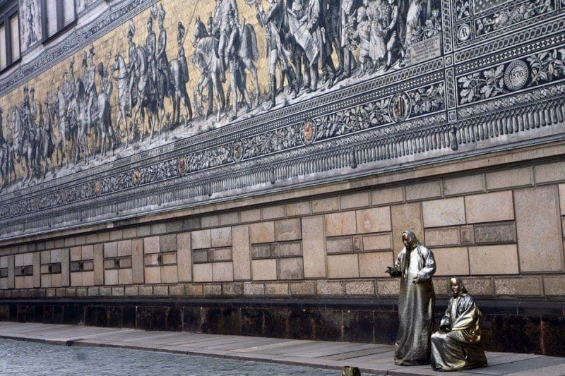 Dresden, en Alemania, es un ejemplo de como una ciudad se ha reconstruido