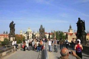 Praga puente Carlos blog
