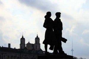 Esculturas de aire comunista en Lituania