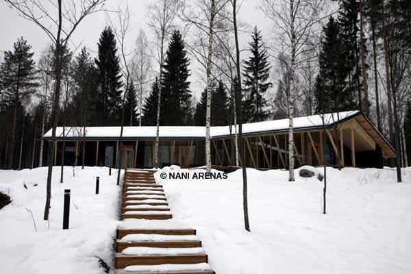 Cabañas de diseño de alquiler en Finlandia
