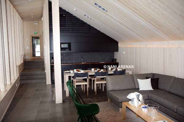 Cabaña de diseño en Finlandia