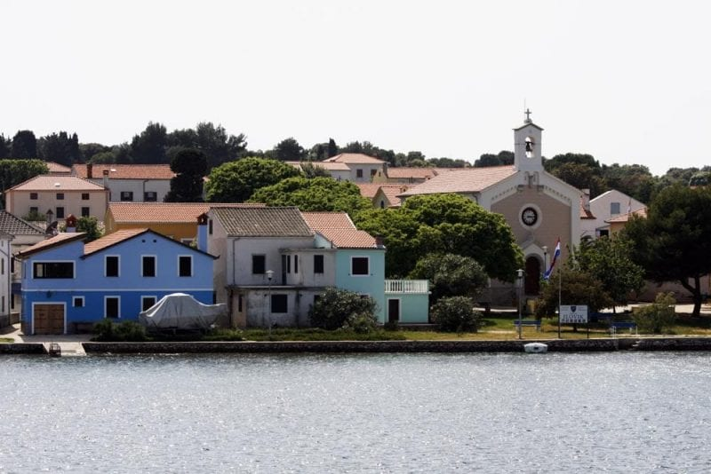 Pueblos en la bahía del Kvarner