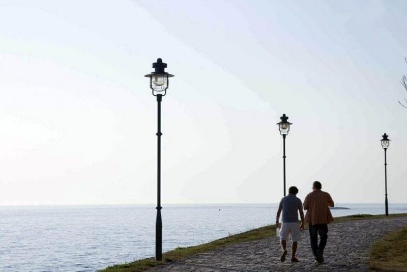 Paseo con vistas al mar de Rovinj