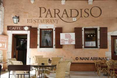 """Restaurante """"Paradiso"""" en la isla de Rab"""