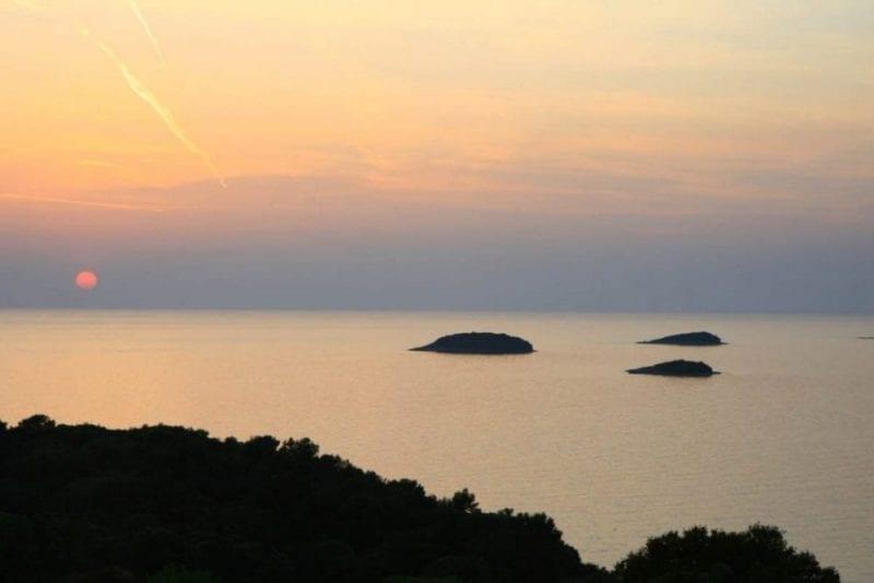 Atardecer en Istria