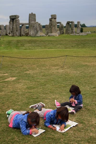 Stonehenge también conquista a los niños