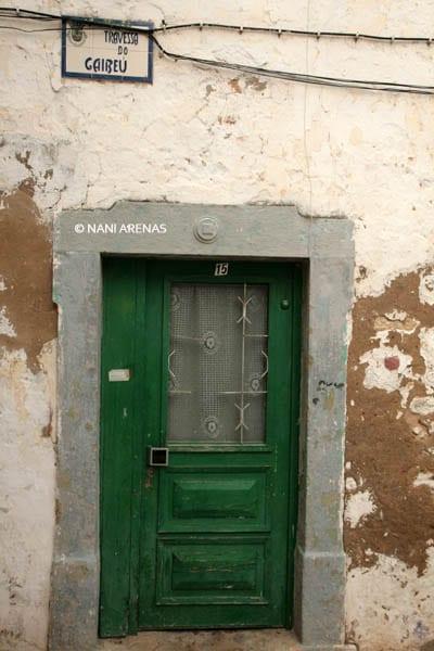 Puerta en El Algarve