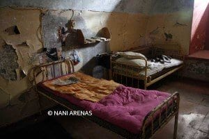 Celda de la prisión de Patarei en Estonia
