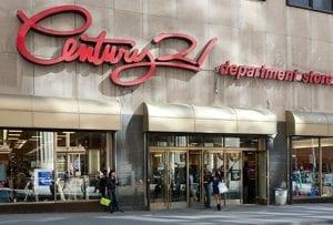 Hay dos Century 21 en Manhattan
