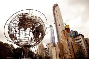 Columbus Circle, en el Upper west Side de Manhattan