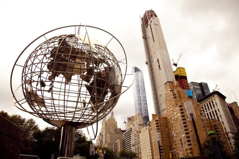 Columbus Circle, en el Upper west Side de Manhattan