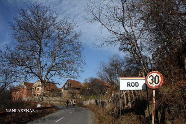 Panoramica de Rod, Transilvania