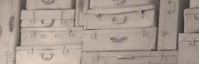 Las maletas blancas, marca de imagen de La Viajera Empedernida