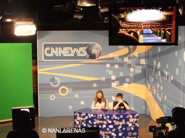Plató de TV de Micrópolix