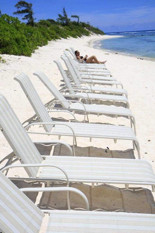 playa isla Mauricio