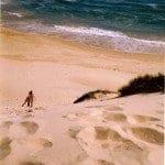Cazados en una playa en la punta del continente africano