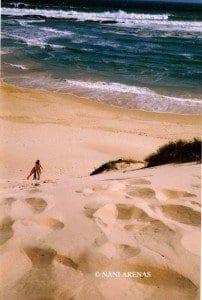 Playa en la Garden Route en Sudáfrica