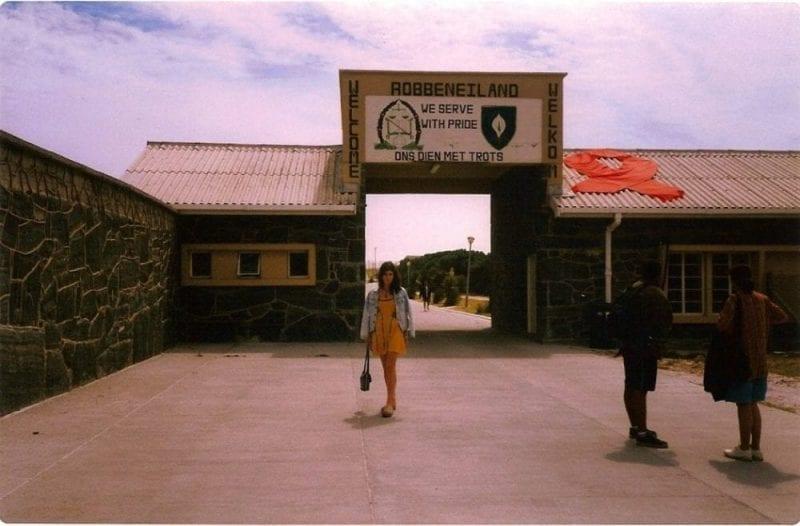 Robben island puerta principal nani arenas blog