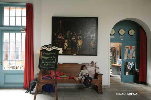 hall del Stayokau de Heemskerk