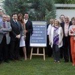 Recepción en la embajada de España en Belgrado por el nuevo vuelo a Serbia