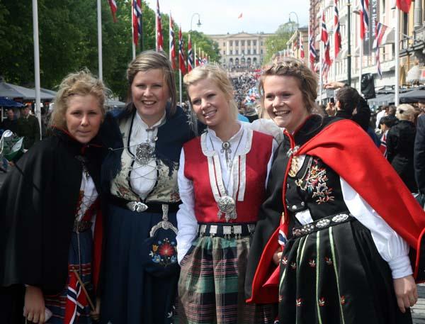 Trajes típicos noruegos