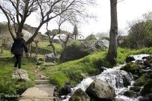 El paisaje que rodea el santuario es hermoso