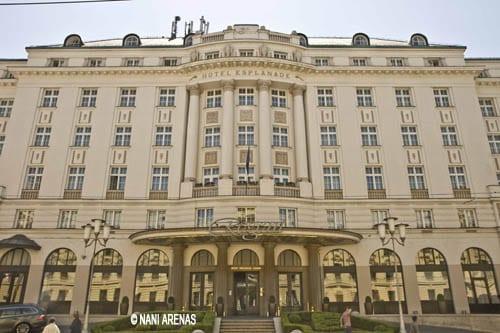 Fachada del hotel Regent Esplanade en Zagreb