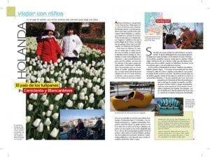 Viajes con niños, revista Ser Padres