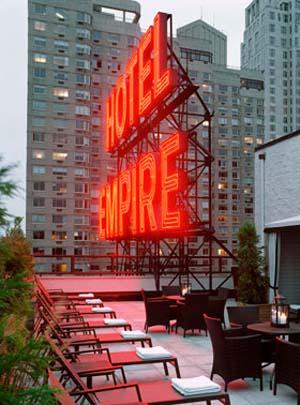 El hotel Empire está cerca de Columbus Circle