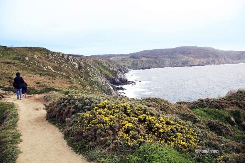 Panorámica de la costa desde Estaca de Bares