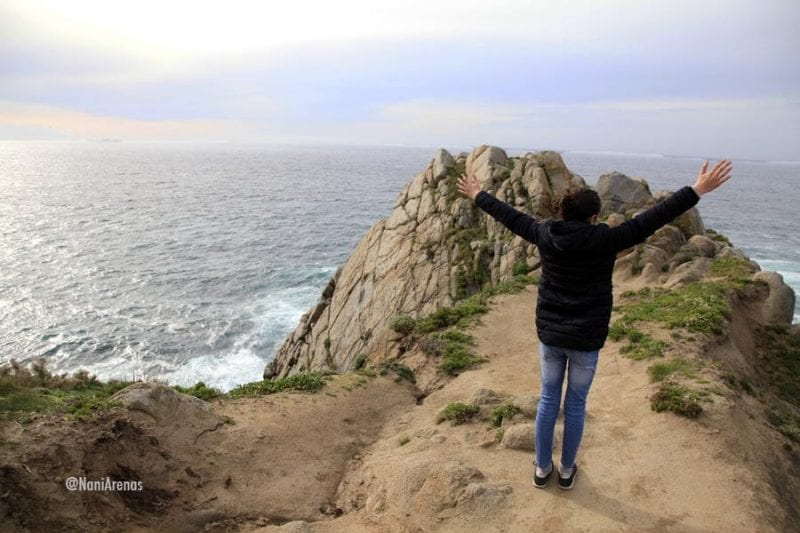 La punta de Estaca de Bares separa el Atlántico del Cantábrico
