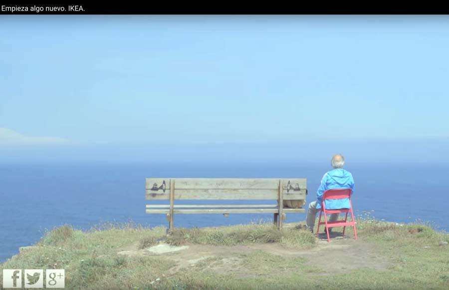 Captura del video promocional de Ikea