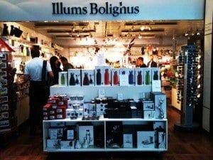Tienda de Illums Bolignus en el aeropuerto de Copenhague