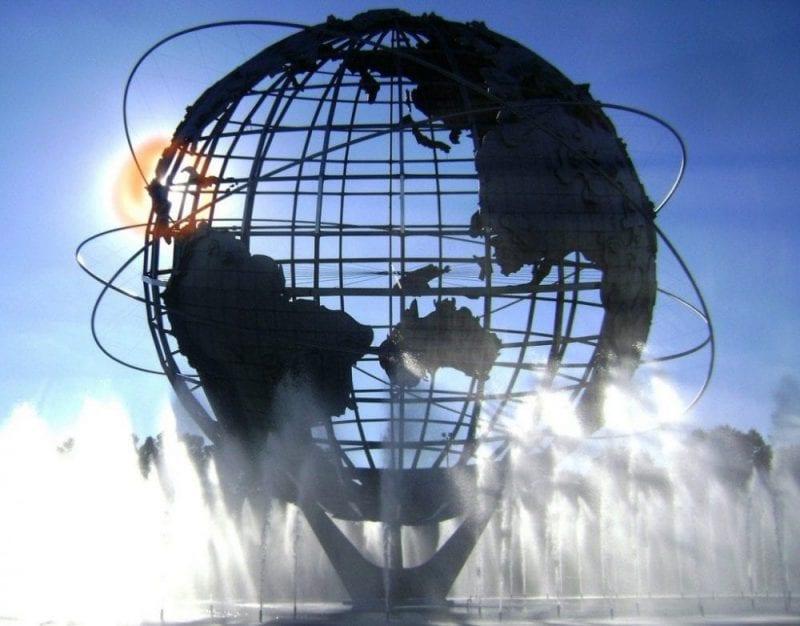 La gran Unisphere, el icono del Flushing Meadows
