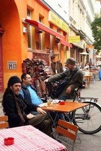 Rincón en el barrio de Kreuzberg