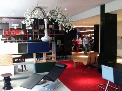 Recepción del hotel citizen amsterdam city