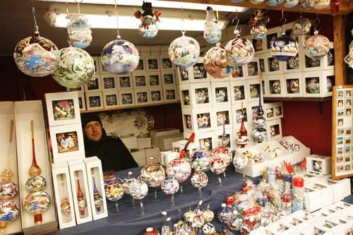 navidad Viena puesto mercadillo