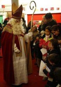 San Nicolás es el Papa Noel Holandés