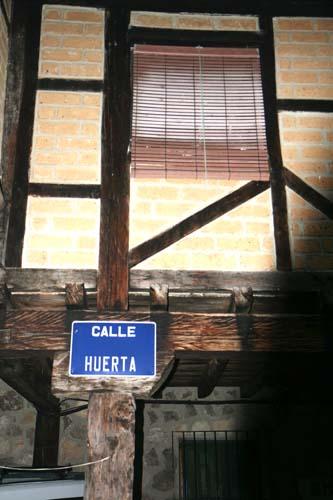 Casas entramadas en Garganta la Olla