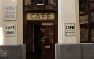 Café Hawelka en Viena