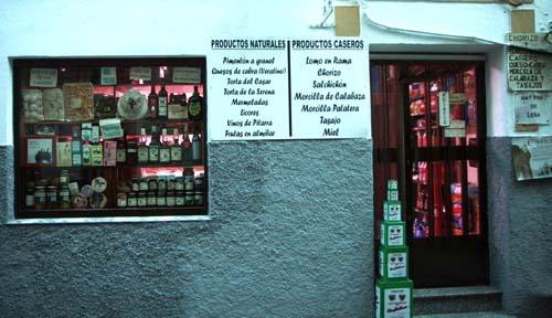 Tienda de productos de La Vera en Garganta la Olla