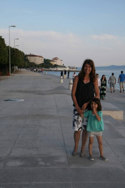 Croacia zadar paseo virginia y nani Arenas baja