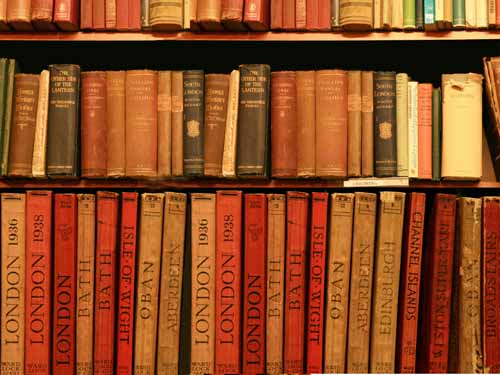 Una buena biblioteca es de gran ayuda