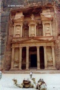 El Tesoro es la fachada más famosa de Petra