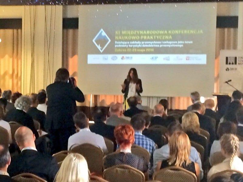 Ponencia de Nani Arenas sobre Turismo Industrial en Polonia