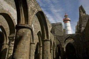 Ruinas de la abadia de Saint Mathieu