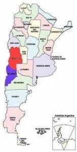 Mapa_Division_Politico argentina