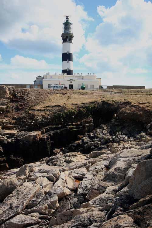 El Faro de Creach en Ouessant es uno de los mas potentes del mundo