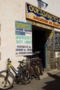 Ouessant alquiler de bicicletas