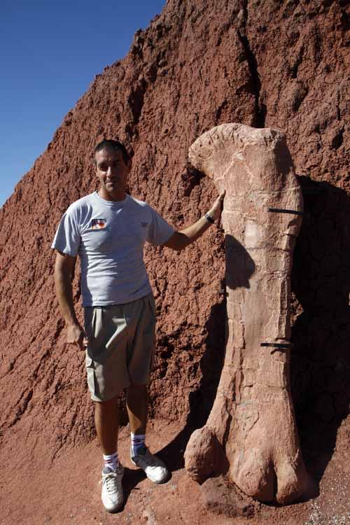 Jorge Calvo es el paleontologo de proyecto dino